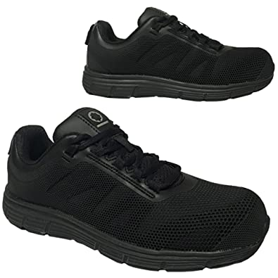 743b3ba73e6 Steel Toe Cap Safety Trainers Boot Lightweight Boots Shoes Work Mens Black  6-13