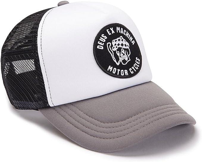 Deus ex machina - Gorra de béisbol - para hombre blanco-gris Talla ...