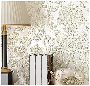 Yosot 3D Relief Europäische Vliestapete Schlafzimmer Tapete ...