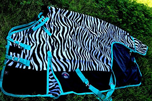 """CHALLENGER 78"""" 1000D Turnout Waterproof Horse Rain for sale  Delivered anywhere in USA"""