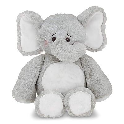 "Bearington Baby Spout Hugs a Lot Plush Stuffed Animal Gray Elephant 14"": Baby"