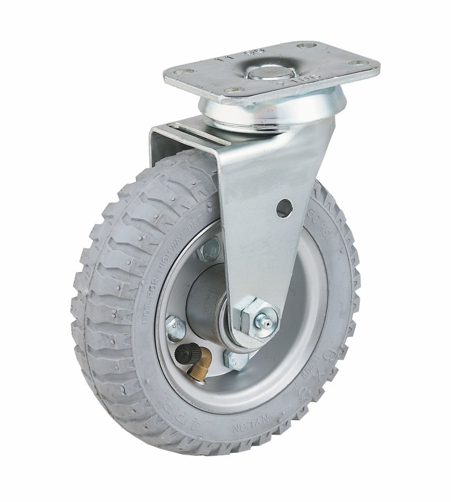 E.R 4 Wagner 4 X 1 Wheel 2 Swivel//2 Rigid 2-3//4 x 3-3//4 Plate Caster New