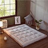 HM&DX Plegable Colchón Suelo Tatami, Grueso Acolchado Suave Antiescaras Colchón futon Dormir Mat para Dormitorio