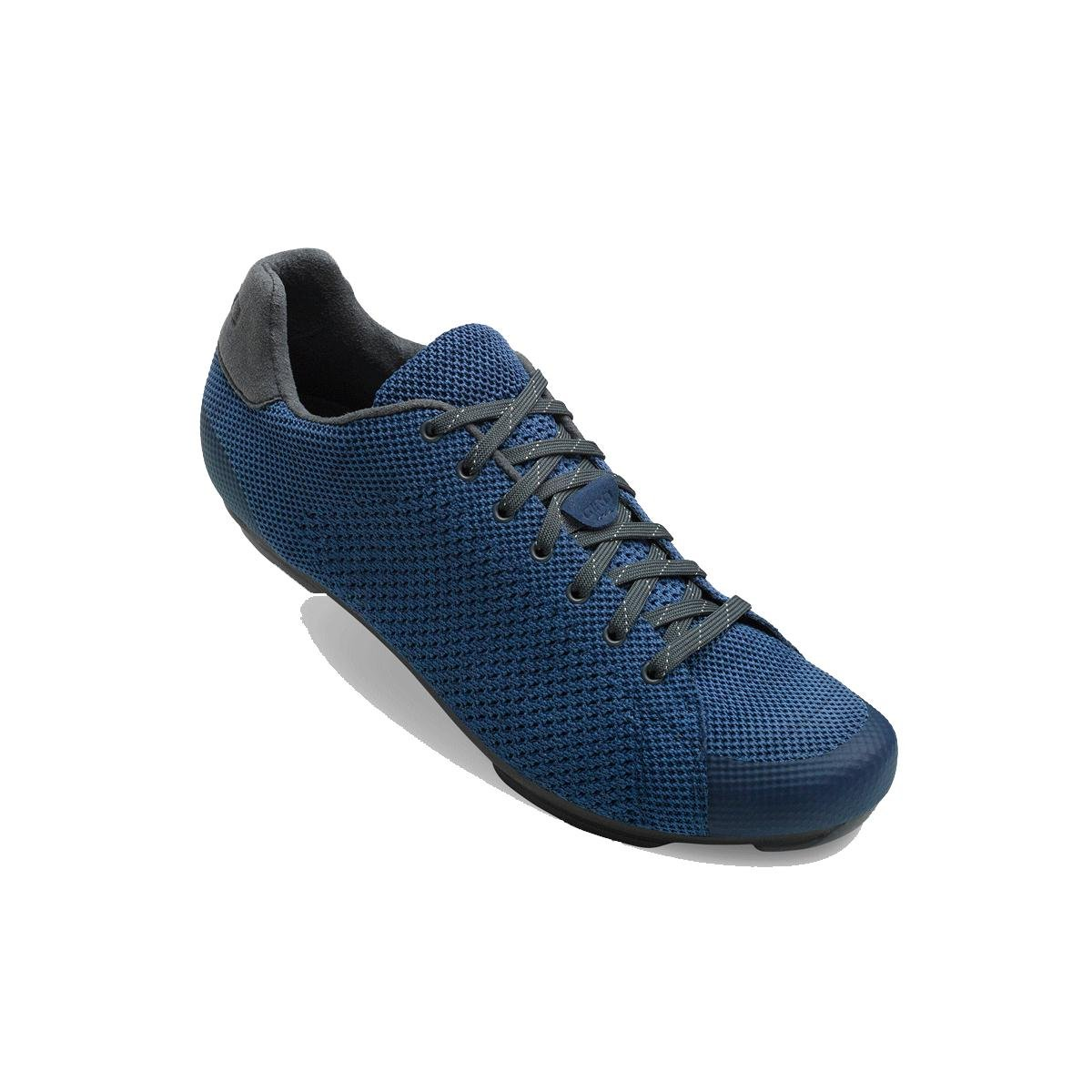 Giro Republic Reflectiveニットサイクリング靴 – Men 's B075RT62G6 43 M EU|Midnight/Blue Heather Midnight/Blue Heather 43 M EU