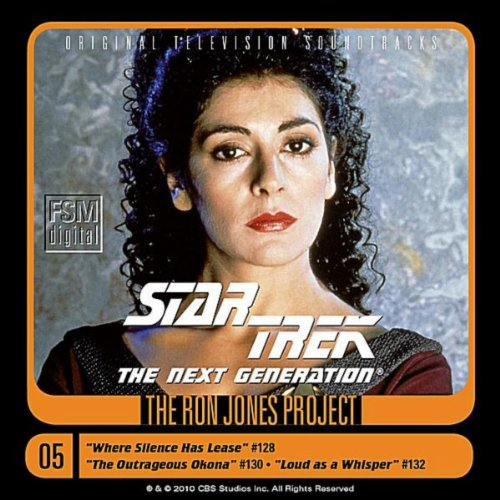Star Trek: The Next Generation, 5: Where Silence Has Lease/The Outrageous Okona/Loud as a Whisper
