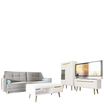 Wohnzimmer Set Nordi 7 Sofa Oliver Wohnzimmer Im Skandinavischen