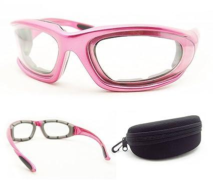 Rosa marco de transición Biker Gafas De Sol Para Las Mujeres ...