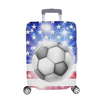 Amazon.com: Bandera de Usa fondo de fútbol con pirotecnia o ...