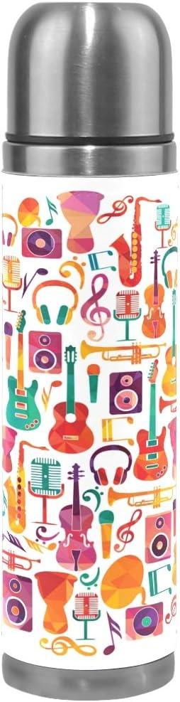 Ahomy - Taza de Viaje aislada al vacío, Colorida Nota Musical para ...