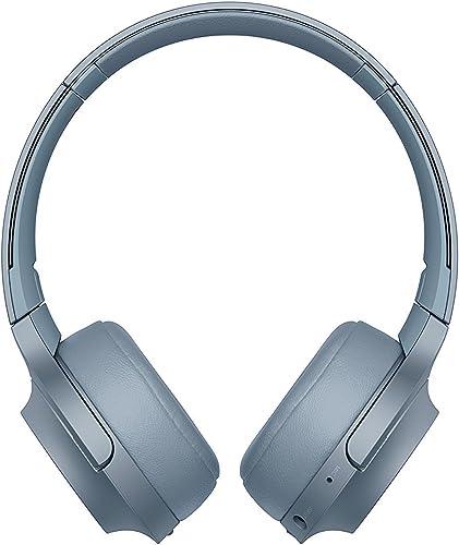 Sony WH-H800 h.Ear Series Wireless On-Ear High Resolution Headphones International Version Seller Warranty Blue