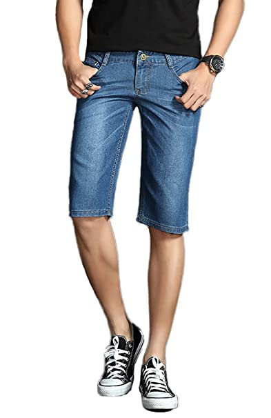Soojun Mens Fashion Summer Denim Shorts At Amazon Men S Clothing Store