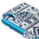 HTC Desire 626 / 626s Case -MOLLYCOOCLE[Tribal Pattern Elephant]Stand Wallet Purse Credit Card ID Holders TPU Soft Bumper PU Leather Ultra Slim Fit Cover for HTC Desire 626 / 626s
