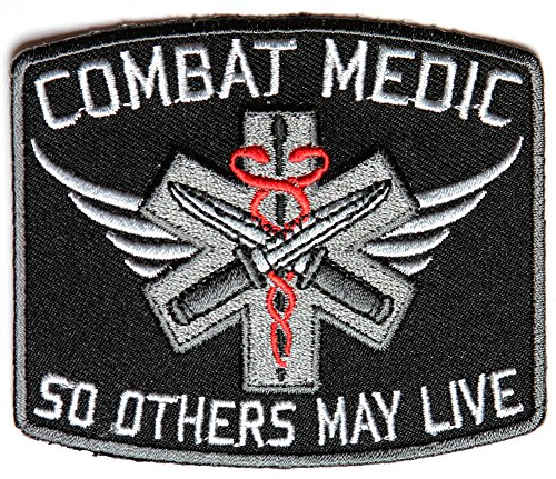 COMBAT MEDIC SO OTHERS MAY LIVE PATCH - Color - Veteran Owned Business.
