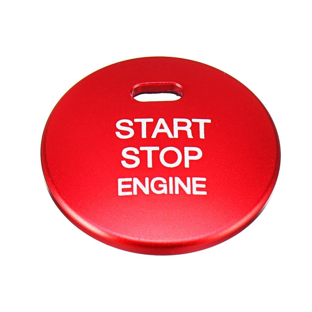 Homyl Car Engine Start Stop Switch Button Replace Cover for Mazda 2 3 6 CX-3 MX-5
