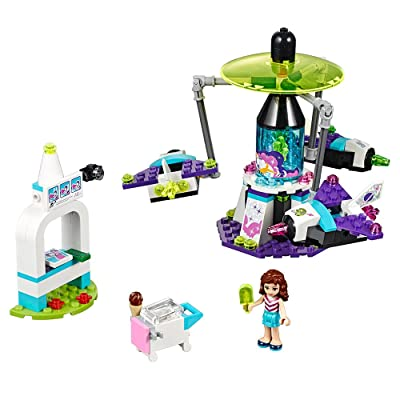 LEGO Friends Amusement Park Space Ride 41128 Toy for Girls and Boys: Toys & Games