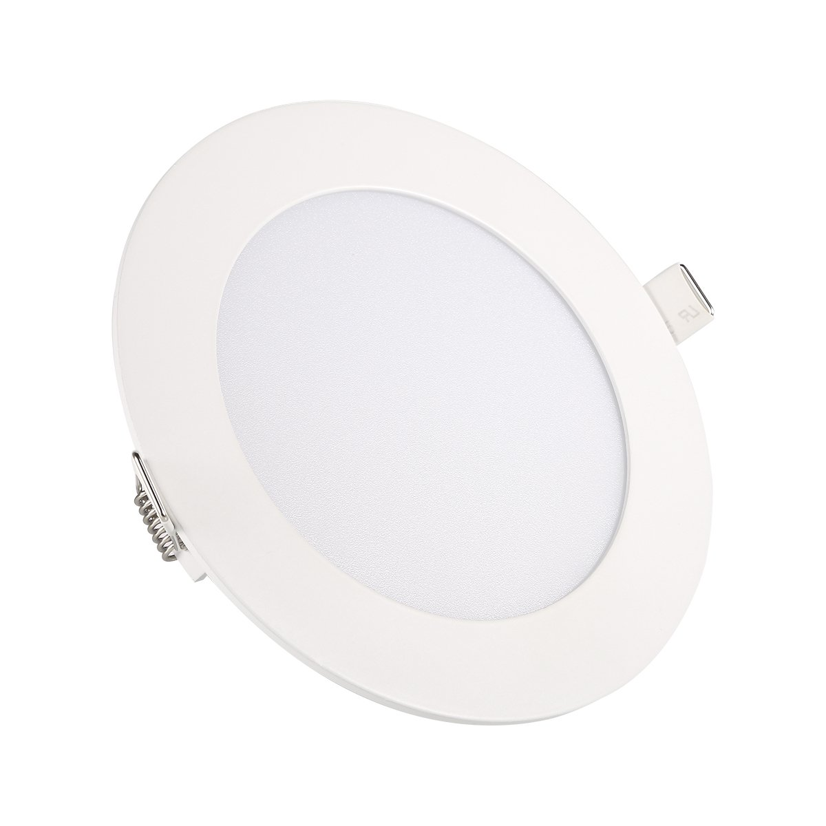 Ceiling Lights, TryLight 9 Watts 5 inch Dimmable Round LED Recessed Lighting Ultra-Thin for Home Office Commercial Lighting, 4000K Cool White