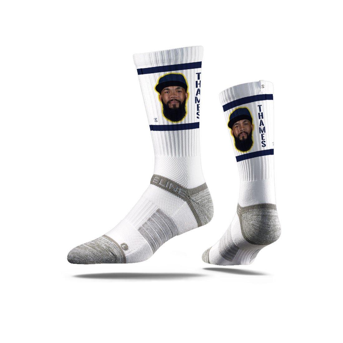 Strideline Major League Baseball Premium Athletic Crew Socks One Size