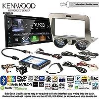 Volunteer Audio Kenwood Excelon DDX6904S Double Din Radio Install Kit with Satellite Bluetooth & HD Radio Fits 2010-2015 Chevrolet Camaro