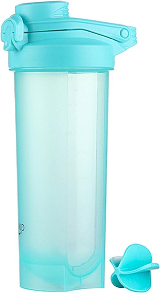700 ml Proteína Shaker Botella con Bola Mezcladora, Botella de Agua, Proteína Coctelera Botella, Shaker Botella para Batidos Proteínicos, Bebidas de ...