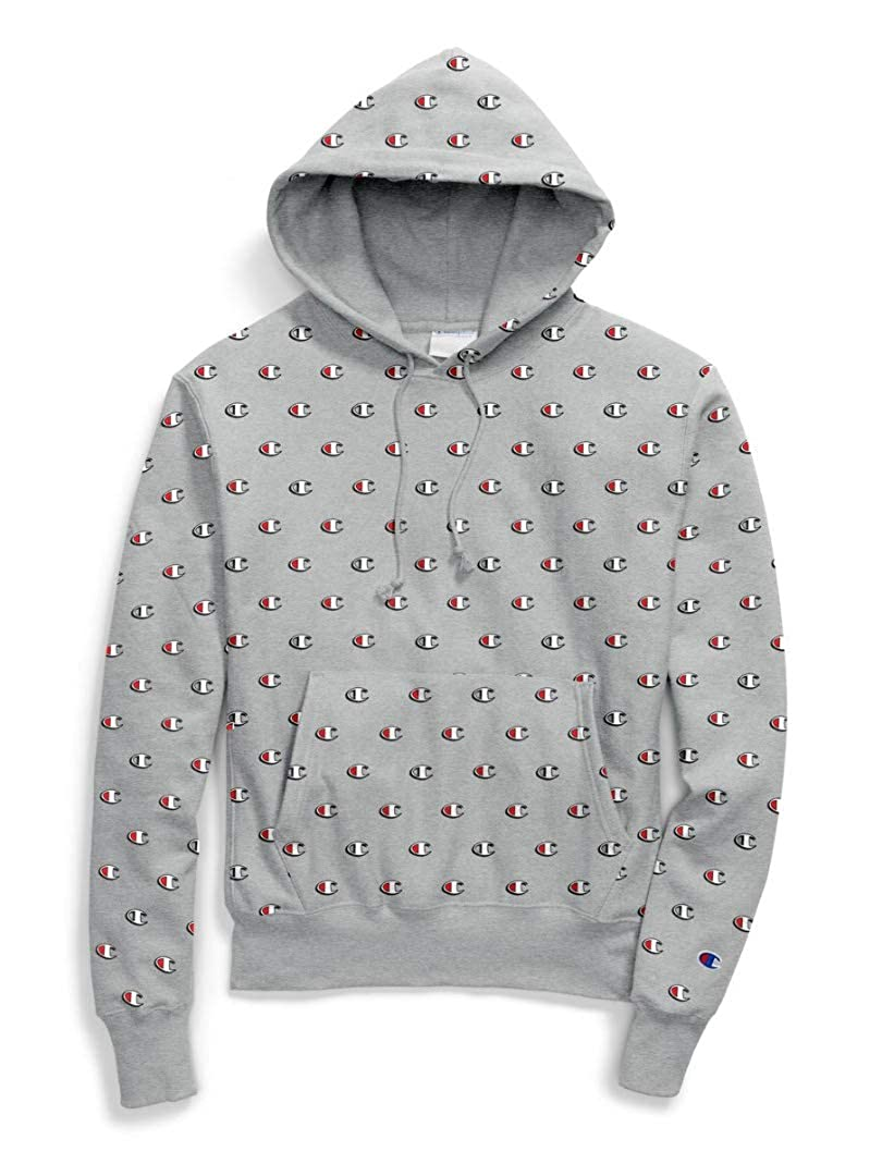 d7195086 Champion Life Men's Reverse Weave All Over Print Pullover Hoodie at Amazon  Men's Clothing store: