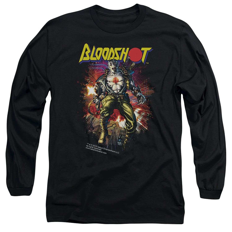 Bloodshot Valiant Comics Vintage Bloodshot Adult Long Sleeve T-Shirt Tee