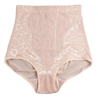 b33c736ad Amazon.com  CTRICKER Plus Size Women Panties Body Shaper Breathable Sexy  Underwear High Waist  Clothing