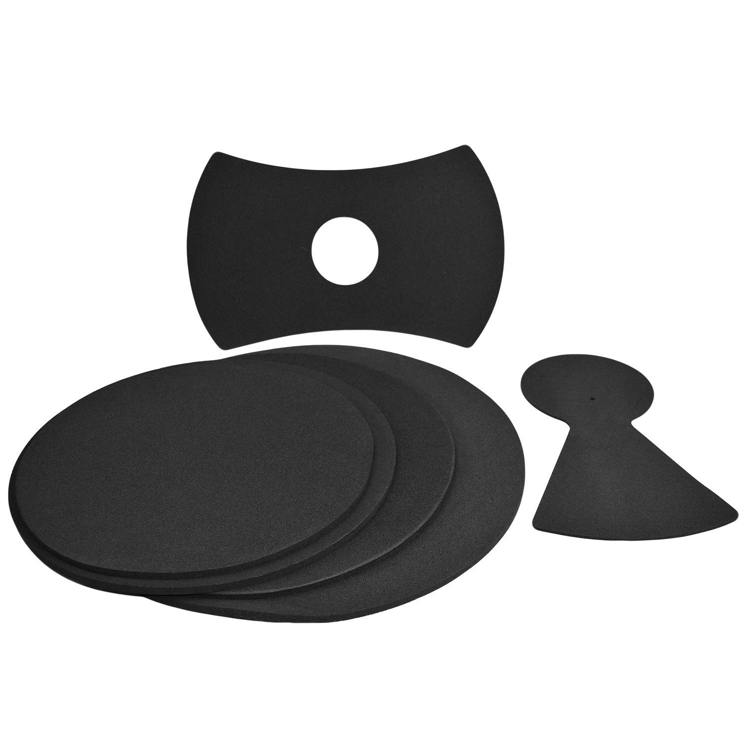 4 Pack Drum Mutes 4 Pack with Cymbal + Hi hats 12,13,14,16 Drum Silencers