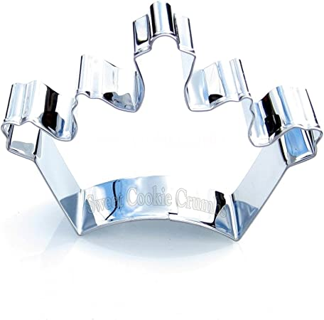 Queen Crown Cookie Cutter- Stainless Steel