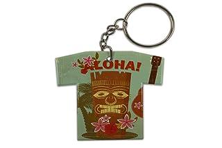 Portachiavi Vacanza Agenzia Di Viaggi Hawaii Aloha Maglia Stampato