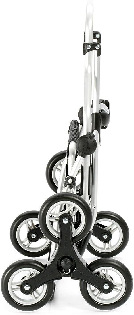 Andersen Carro de Compra Scala Plus Aluminio Plegable con Rueda /Ø 15cm y 38 litros Bolsa Tuva con Bolsillo t/érmico Negro