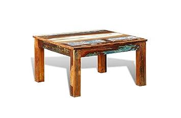 Reclaimed Furnitures Wieder Holz Kaffee Tisch Antik Stil