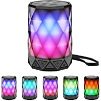 LFS Portable Bluetooth Wireless Speakers with LED Lights