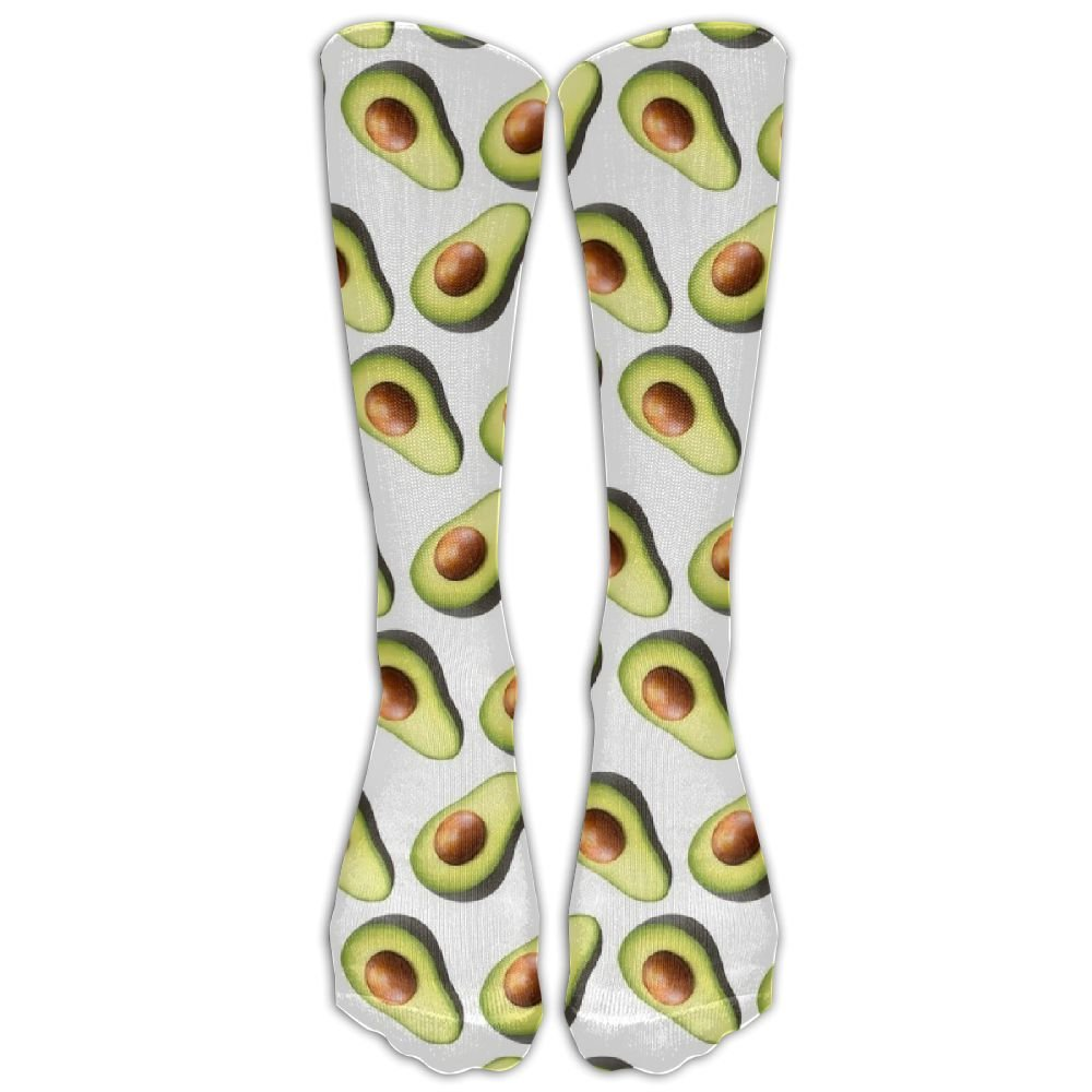 Cfcfy Avocado Pattern Unisex Comfortable Stocking Socks Athletic Sock