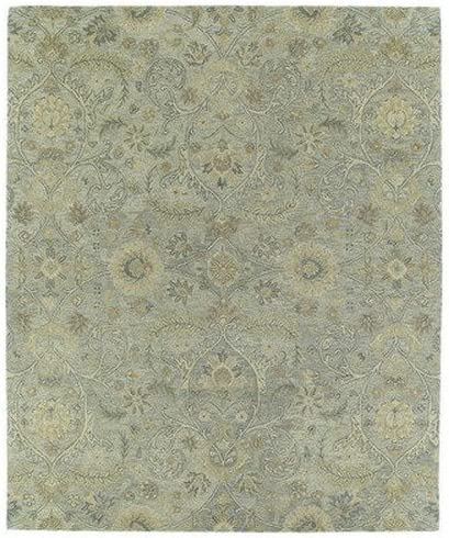 Kaleen Rugs Helena Collection 3200-77 Silver Hand Tufted 10 x 14 Rug