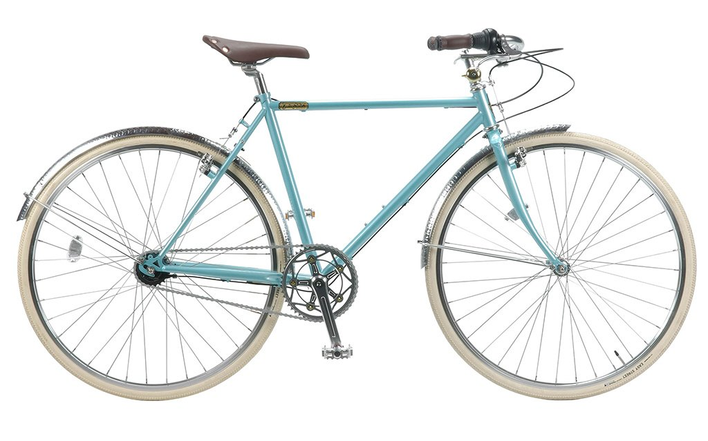 【 BURLINGTON BICYCLE i5 700C@84240 】 バーリントン i5 自転車 サイクル (ワイヤーロックサービス)(スタンド附属しません) B075427VV4GLACIER