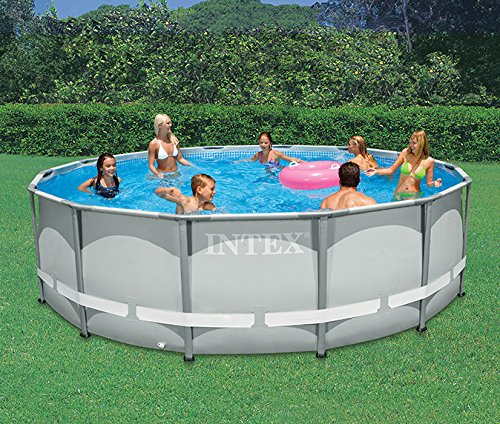 Intex Ultra Frame 14 Foot X 42 Inch Above Ground Swimming Pool Home Garden Spa Pools