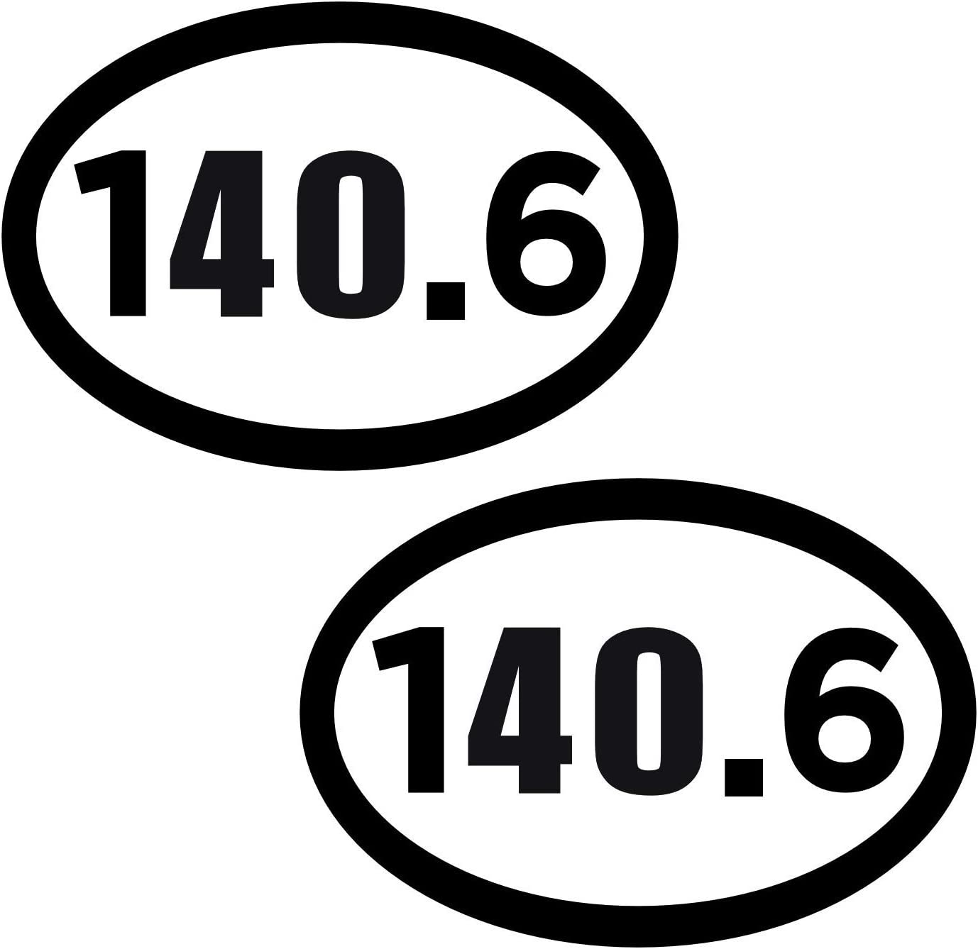 1 Magnet 4x6 Oval Automobile Magnet Heavy Duty UV Waterproof Artisan Owl 140.6 Full Ironman Triathlon White Oval Car Magnets