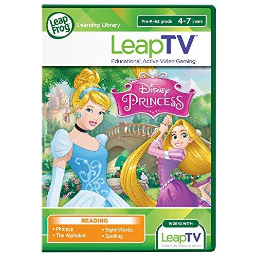 LeapFrog LeapTV: Disney Princess: Cinderella and Rapunzel Educational, Active Video Game (Leapfrog Tv)
