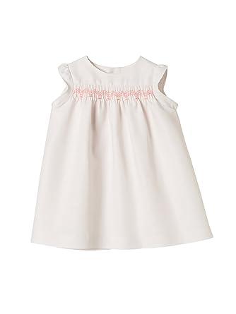 12da2b008ceb Cyrillus Baby-Kleid, Leinen 71 Pastellrosa  Amazon.de  Bekleidung