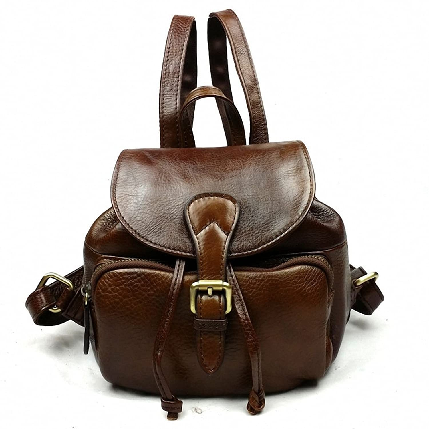 Lixmee Women Fashion Casual Leather Backpack