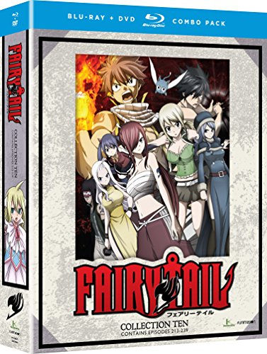 Fairy Tail: Collection Ten (Blu-ray/DVD Combo)