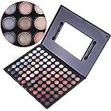 Anself - 88 colores de sombra de ojos,paleta ultra maquillaje cosmética del color caliente