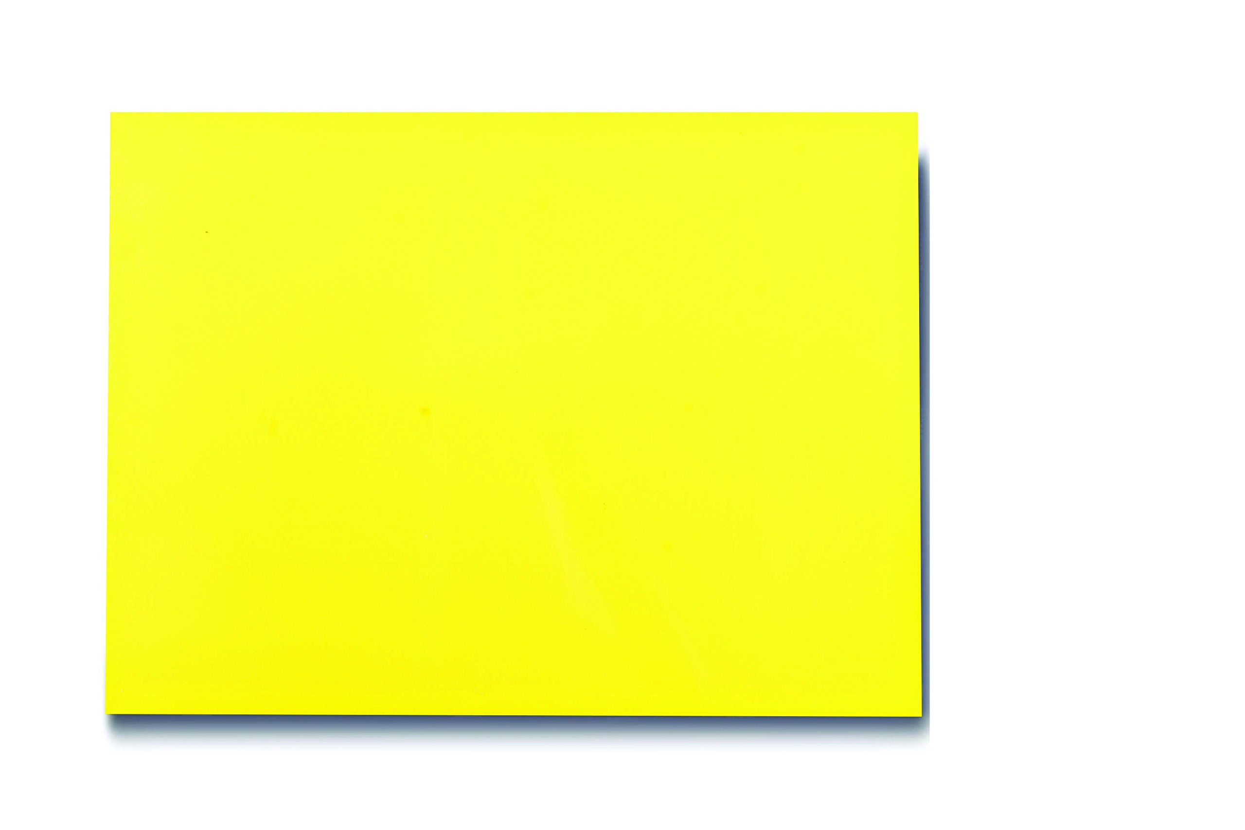 25 Dry Erase Magnet Shelf Labels 2'' x 3'' - Yellow - 20 mil