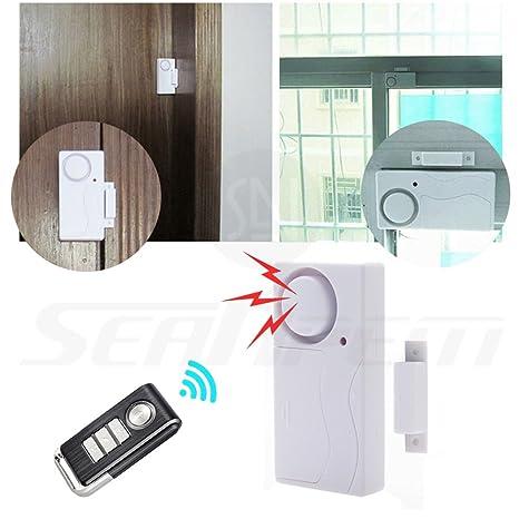 Control remoto inalámbrico seguridad para el hogar alarma de ...