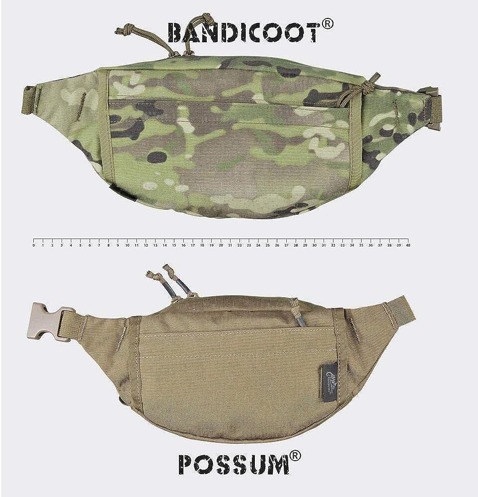 Noir Helikon Possum Pack de Taille Shadow Grey
