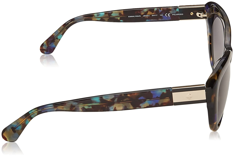 233f7e1a08 Amazon.com  Kate Spade Women s Emmalynn s Cateye Sunglasses BLUE HVNA 54  mm  Clothing