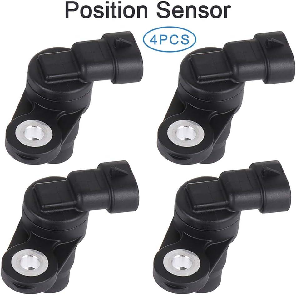 ZENITHIKE CPS Camshaft Position Sensor Adaption for 2131557 2004-2005 for B-uick Rainier 2005-2007 for C-hevrolet Cobalt 2004-2006 for C-hevrolet Colorado 2002-2005 for C-hevrolet Trailblazer 4pcs