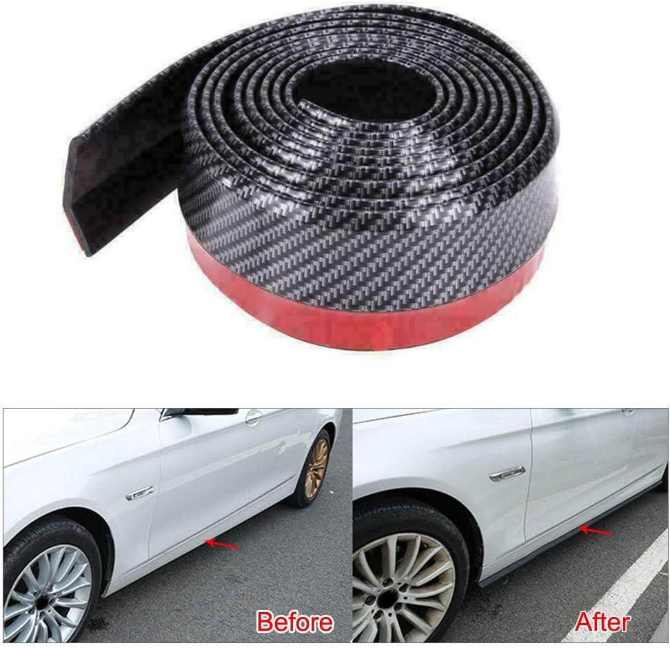 housesweet 2pcs Adesivi per paraurti Auto Graffi Auto Protezione Bordo Posteriore Auto Protezione della Protezione della Porta