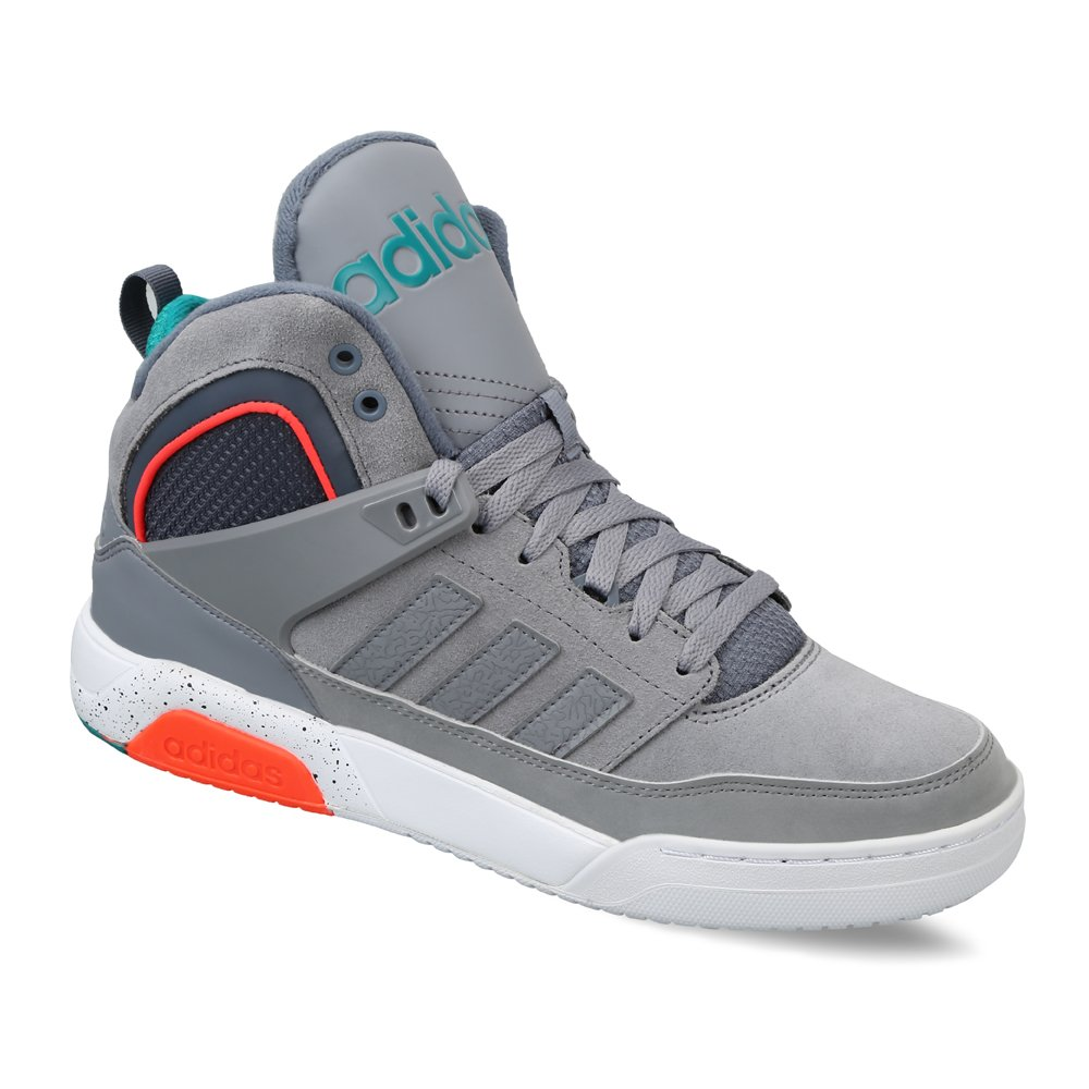 watch 825b3 d4246 adidas neo Men s Ctx9Tis Mid Grey and Eqtgrn Leather Multisport Training  Shoes - 10 UK India (44.7 EU)  Buy Online at Low Prices in India - Amazon.in