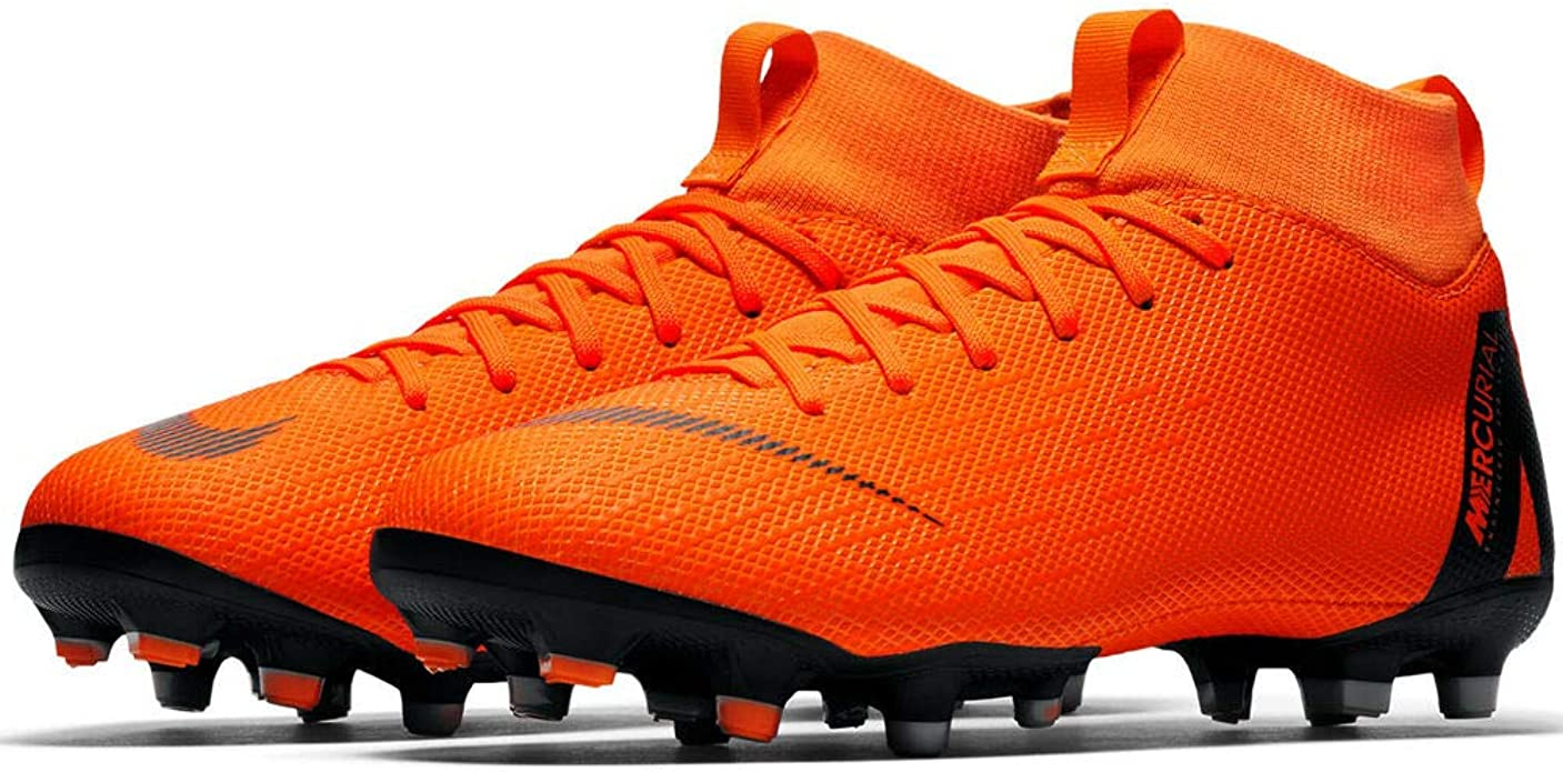 Nike Mercurial Superfly VI Academy AH7337-001 MG Black Youth Soccer Cleats